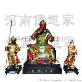 佛教保护神韦驮菩萨贴金佛像