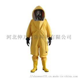 伸萬 FHIA氣密防化服  廠家直供   阻燃布雙面塗覆
