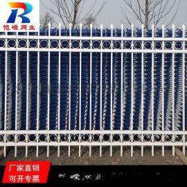 福州小区围墙锌钢护栏 锌钢护栏铁艺围栏