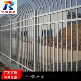 南昌别墅围墙栅栏 铁艺锌钢护栏生产厂家
