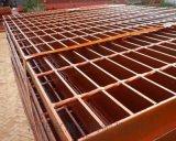 石家庄喷漆钢格板厂家供应于平台、楼梯
