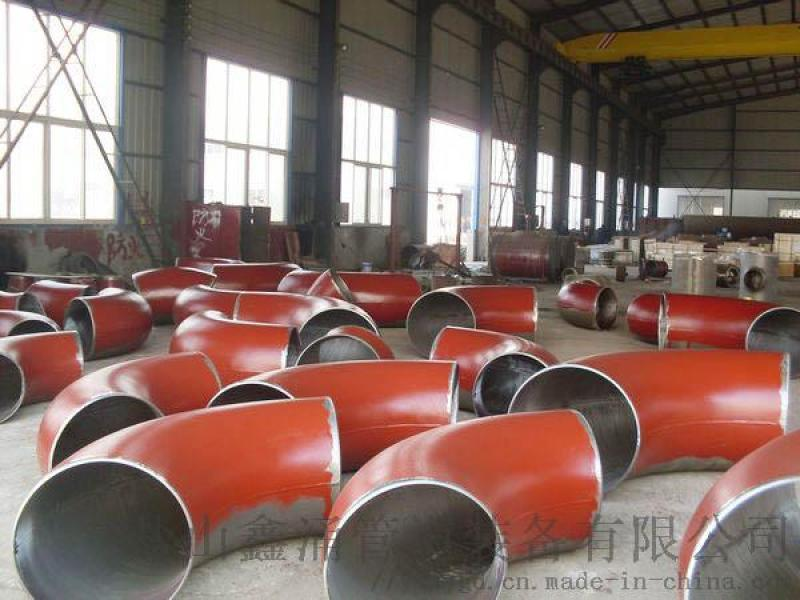 DN200鐵低溫耐磨彎頭1.5D標準鹽山鑫涌製造