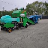 全自动秸秆青储打包机,玉米秸秆打捆机厂家