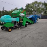 全自動秸稈青儲打包機,玉米秸稈打捆機廠家