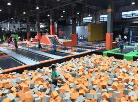 超级蹦床室内儿童乐园大型蹦床成人酷跑蹦床公园蹦床组合厂家定制