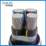 鋁合金線纜電纜 高品質鋁合金4芯電力電纜
