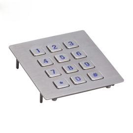 楼宇门禁键盘自助取货机键盘 户外IP65防水键盘