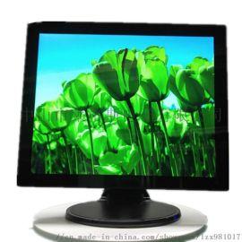 工厂**17寸触摸显示器10点电容触摸 台式收银点餐液晶显示屏