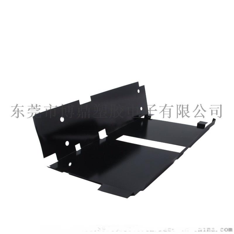廠家加工耐高溫易折彎絕緣片 高品質黑色絕緣墊片