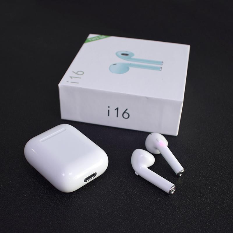 i16蓝牙耳机 tws运动无线黑科技新款