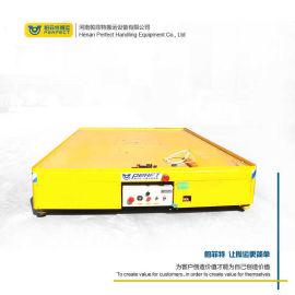 蓄电池电动平板** 原地旋转横移无轨车