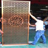 創業園雕刻鋁單板 華彩城木紋鋁蜂窩板