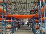 佛山多层货架阁楼组合仓储仓库二层夹层货架阁楼平台