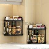 厨房调味置物架瓶罐台面收纳整理架免打孔调味品