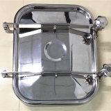 厂家直销各种卫生级不锈钢方形手孔规格435*335
