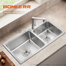 邦克BK8632N厨房不锈钢水槽