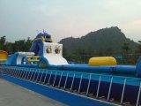 充气水池广州出租大型支架水池,便携式充气游泳池租售