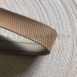 印染机用包辊刺皮 防滑糙面带 粒面胶皮