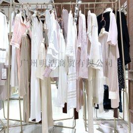 【宝姿冰麻】品牌折扣女装专柜货源 申星尾货剪标