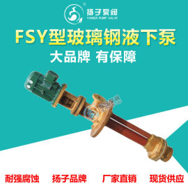 FSY型立式玻璃钢液下泵立式化工泵塑料液下泵