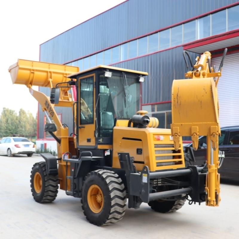 VT40两头忙一体机 多功能挖掘装载机厂家