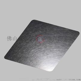 高比真空镀不锈钢板 乱纹灰色GB-8004