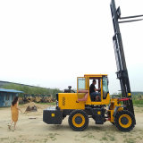 新款多用途3.5噸四驅越野叉車 嶽工生產廠家
