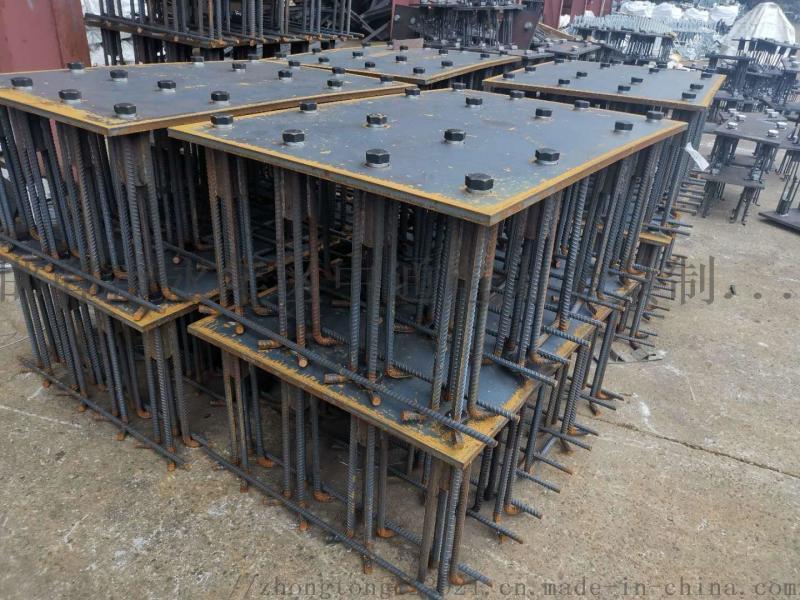 广西北海防落梁挡块安装图高铁桥梁预埋件报价