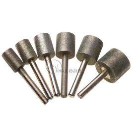 订做高品质钻石磨棒 圆柱合金磨头 金刚沙磨头