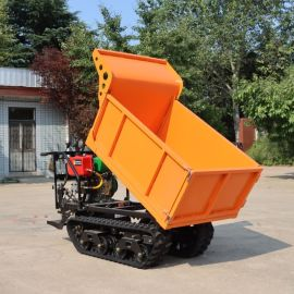 橡胶履带园林运输自卸车