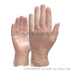 代爾塔201371一次性手套  透明PVC防護手套