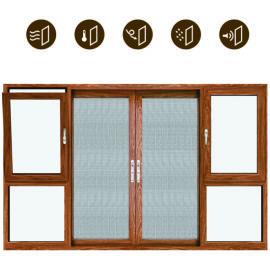 派克斯顿门窗系统功能门、窗组合