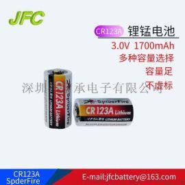 CR123A继电器电池 3V 1600mAH