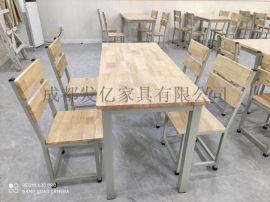 四川快餐桌椅|单位食堂餐桌椅定制