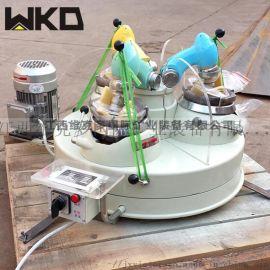 广东三头研磨机 XPM120*3研磨机 玛瑙研磨机