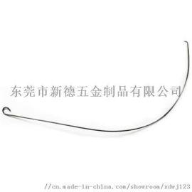 东莞五金加工厂 蓝牙耳机记忆钢丝 形状记忆合金定做