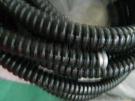 阻燃脚踩不变形蛇皮管/包塑管/穿线金属软管