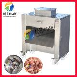 新鲜五花肉开条切块机,商用自动鸡鸭切块机