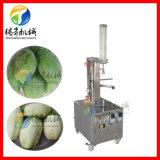 菠萝削皮机厂家,立式木瓜芋头刨皮机