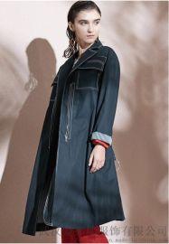 高档女装拿货基弟20年春装新款女式风衣外套