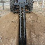 混凝土路面挖沟机 大型道路圆盘开沟机