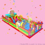 鄭州百美遊樂廠家定製大型兒童充氣城堡