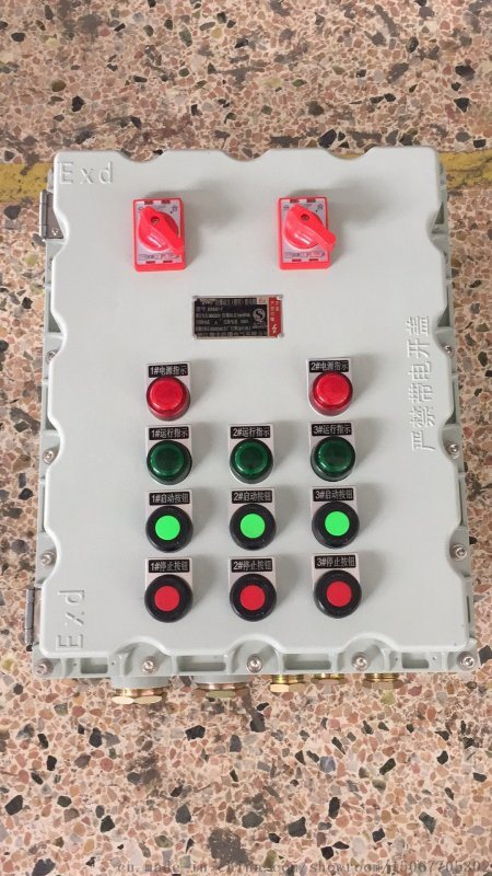 水房水泵防爆控制電櫃