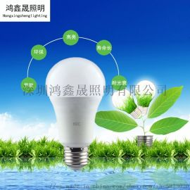 LED球泡灯E27螺旋灯泡家用写字楼灯