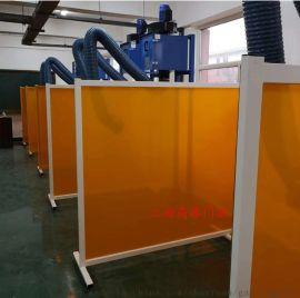 电焊保护屏厂家,上海电焊遮光板,高藤门业