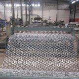 焊接刀片刺网菱形护栏网生产设备
