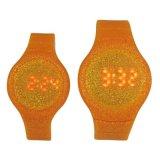 手錶工廠OEM定製新款  矽膠閃粉禮品手錶