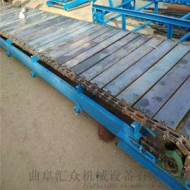 珠面链板机 链板输送机生产线 六九重工 加厚铁板式