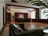 東莞厚街辦公室裝修公司 石膏板吊頂與木格柵吊頂的區別