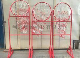 篮球传球训练器材 钻圈架 传球训练器 击地传球